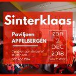 Sinterklaas komt op 2 december 2018